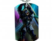 Zelda Fierce Deity Dog Tag Pendant Necklace