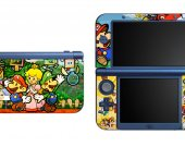 Paper Mario NEW Nintendo 3DS XL LL Vinyl Skin Decal Sticker
