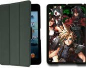 FINAL FANTASY VII 7 IPad Mini Black Protective Fold Smart Cover Case