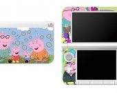 Peppa Pig Nintendo 3DS XL LL Vinyl Skin Decal Sticker