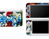 Smurfs Nintendo 3DS XL LL Vinyl Skin Decal Sticker