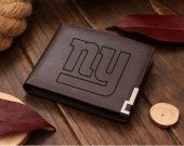 Football New York Giants NFL Leather Wallet