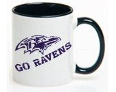 Football Baltimore Ravens NFL Ceramic Coffee Mug CUP 11oz