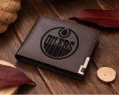 Ice Hockey Edmonton Oilers NHL Leather Wallet