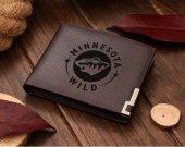Ice Hockey Minnesota Wild NHL Leather Wallet