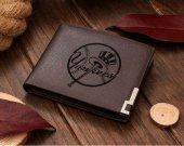 Baseball New York Yankees Leather Wallet