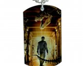 Night at the Museum Dog Tag Pendant Necklace