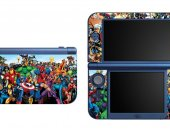 Superheroes NEW Nintendo 3DS XL LL Vinyl Skin Decal Sticker