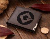 Minion Logo Leather Wallet