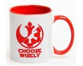Star Wars Choose Wisely Ceramic Coffee Mug CUP 11oz