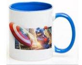 Lego Captain America Ceramic Coffee Mug CUP 11oz