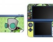 Invader Zim  NEW Nintendo 3DS XL LL Vinyl Skin Decal Sticker