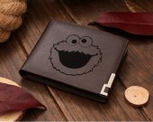Cookie Monster Leather Wallet