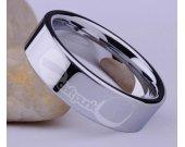 Daft Punk Stainless Steel Ring