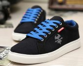 The World End WIth You TWEWY Skull symbol Canvas Sneakers Sport Casual Shoes