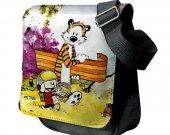 Calvin and Hobbes Messenger Shoulder Bag