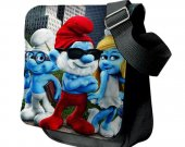 Smurfs  Messenger Shoulder Bag