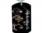 Nickelback Dog Tag Pendant Necklace