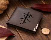 The Lord Of The Rings Tolkien Symbol  Leather Wallet