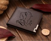 Beauty and the Beast  Leather Wallet