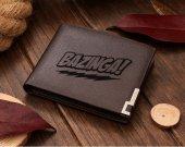 The Big Bang Theory Bazinga Leather Wallet