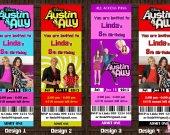 Austin & Ally Birthday Party  Invitation 2 - Printable, DIY
