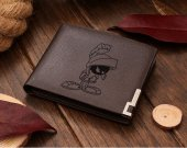 MARVIN THE MARTIAN Leather Wallet