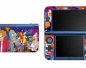 FUTURAMA NEW Nintendo 3DS XL LL Vinyl Skin Decal Sticker