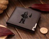 Clash Of Clans Wizard  Leather Wallet