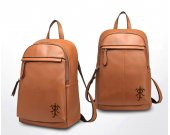 The Lord Of The Rings Tolkien Symbol Genuine Leather Backpack