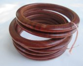 Sandal wood seven bracelets for women