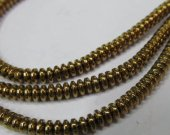 high quality bulk  3x4mm 5strands  hematite beads,round rondelle abacus  silver gold  black mixed  gemstone