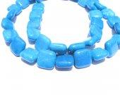 bulk gemstone  hemimorphite stone bead 10mm 5strands 16inch strand ,high quality square box teal blue jewelry beads
