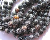 high quality  fire agate onyx gemstone  round ball  black jet  assortment jewelry  beads 12mm--5strands 16inch/per strand
