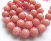 2strands 8-12mm natural  gergous opal  gemstone high quality round ball pink jewelry beads