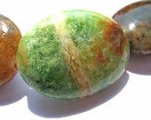 batch genuine green opal  beads 13x18mm 5strands 16inch strand ,high quality oval egg green brown jewelry beads