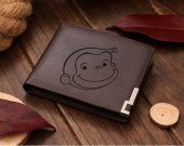 Curious George Leather Wallet
