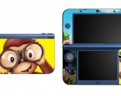 Curious George NEW Nintendo 3DS XL LL Vinyl Skin Decal Sticker