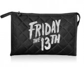 FRIDAY THE 13th Fabric Cosmetic Makeup Bag