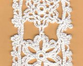Crocheted Lacy Snowflakes Bookmark Kit