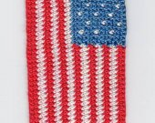 Crocheted American Flag Bookmark Kit
