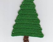 Crocheted Evergreen Christmas Tree Bookmark Kit