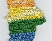 Crocheted Rainbow Trout Bookmark Kit