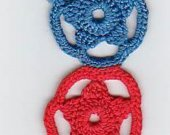Crocheted Red, White And Blue Patriotic Bookmark Kit