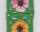 Crocheted Spring Bouquet Bookmark Kit