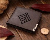 Dragon age Qunari mage Symbol  Leather Wallet