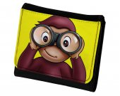 Curious George PU Leather Wallet
