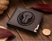 Star Wars Old Republic Logo Leather Wallet