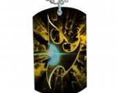 Starcraft Protoss Symbol Dog Tag Pendant Necklace