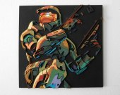 Handmade Halo 2 wall hanging